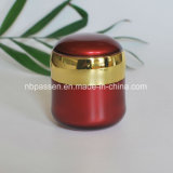 Rouge réglé de luxe neuf/choc crème acrylique d'or pour les produits de beauté (PPC-NEW-107)
