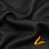 Tela elástico hecha punto de Lycra del Spandex del poliester para la aptitud de la ropa de deportes (LTT-HSWY#)
