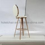 Novo! ! ! Cadeira do aço inoxidável de cadeira elevada de tamboretes de barra com couro do plutônio