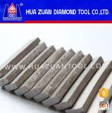 Het Segment van de Diamant van de Vorm van de ventilator voor Scherp Graniet