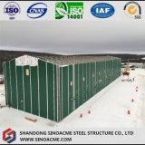 Entrepôt de structure métallique avec le toit d'armature de triangle