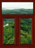 Окно алюминиевого окна пролома высокого качества термально алюминиевое верхнее повиснутое