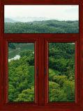 Qualitäts-thermisches Bruch-Aluminiumfenster-Aluminiumgehangenes Spitzenfenster