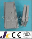 Silbernes anodisierendes Aluminiumprofil für Produktionszweig, Aluminiumproduktionszweig Profil (JC-P81003)