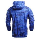 Homens Vestuário desportivo Deslizamento de umidade Quick Dri Light Weight Running Jacket