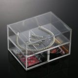 New Clear Acrylic Makeup Organizer Boîte de rangement Cosmetic Display Jewellery Case