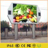 El panel del vídeo de la imagen de la publicidad al aire libre del LED