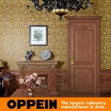 Portello interno dell'oscillazione di legno classica dell'impiallacciatura di Oppein (YDE003D)