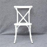 결혼식 단계 (YC-A68-3)를 위한 도매 백색 십자가 뒤 의자