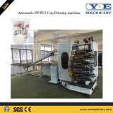 Automatique PP Pet PS Machine à imprimer en plastique avec UV Dry