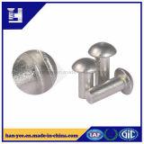 Para possuir o rebite contínuo de alumínio da cabeça do cogumelo da fábrica