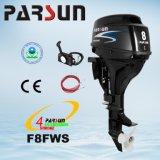 F8FWS, Parsun 8 двигателя на лодке дистанционного управления HP