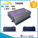 inversor solar Ys-1000g-W-D del lazo de la red de las energías eólicas de la C.C. de 1000W AC-115V/230V