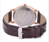 Leather Strap Japan Movement Couple Watch