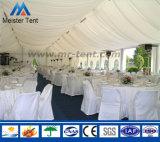 Grande piscina luxuoso caso tenda para festas de casamento