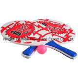 Raquette de tennis professionnel de la plage en bois Jeu de raquette en bois