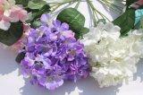 Hortensia Flores artificiales de seda para la decoración del hogar decoración de bodas mayoristas
