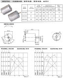 Motor modelo para máquina elétrica de rosca