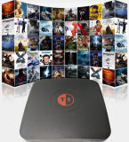 Kodi Ott TV Box 4k Caidao HD Android TV Box UK/US Quad Core de 8g WiFi 2.4G Media Player