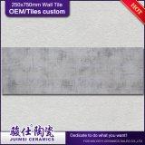 Keramische glasig-glänzende InnenBedroom&Kitchen Wand deckt 250*750mm mit Ziegeln