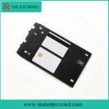 Tarjeta de la tarjeta de crédito estándar del PVC de la raya magnética de la inyección de tinta de la talla