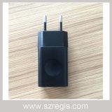 5V/1A/2D'UN USB US/Adaptateur secteur de l'UE avec la CCC Ce certificat RoHS