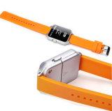 120dB Wearable multifunción forma de reloj de alarma personal con Lr44 batería