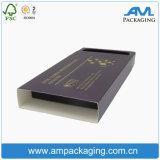 Goldene Luxuxfolien-steifer Papierkasten für das Ampullen-Verpacken