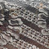 Tessuto del jacquard per il tessuto del merletto del vestito da cerimonia nuziale