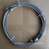 "SAE100 R14 3/8 "" PTFE TeflonEdelstahl-Schlauch"