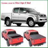 Hiluxビゴ5ののトラックのための熱い販売のビニールのトノーカバー'ベッド