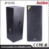 1600W Jp-G153 DJ encenam altofalantes Dual baixo de 15 polegadas