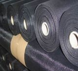 Black Wire Mesh / Black Wire Cloth / Black Vinyl Revestido
