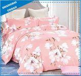 Impressão reactiva a folha de cama em algodão de alta qualidade