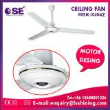 Do ventilador Home de um Ceil de 48 polegadas o ventilador pequeno do motor parte o ventilador de teto branco da cor (HGK-XJ04Z)