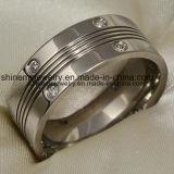De Ringen van het Titanium van het Roestvrij staal van Jewellry 316L (TR1820)