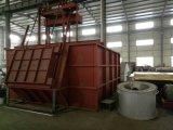 Tipo Chain macchina di alluminio della colata in lingottiera con l'intera linea di produzione