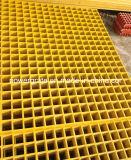 スリップ防止FRPのガラス繊維によって形成される格子