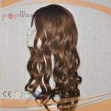 Parrucca riccia cascer ebrea dei capelli brasiliani (PPG-l-0307)