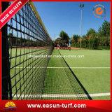Grama artificial para a corte de tênis