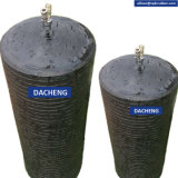 Vessie de drain de plombier avec la pression
