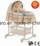 1つの高い赤ん坊のBassinetの赤ん坊の振動Bassinetの赤ん坊の受け台CABba120に付き2つ