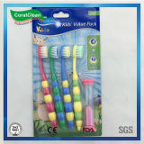 As crianças de cerdas de nylon DuPont escova de dentes infantil do Temporizador de Areia Super Macio
