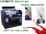 Impresora ULTRAVIOLETA de Flabed de la caja barata del teléfono móvil de la fábrica