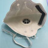 Respirador disponible plegable del polvo N95 con el tipo de la hebilla de la válvula