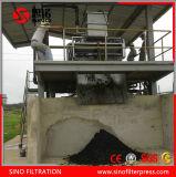 Correa de deshidratación de lodos de aguas residuales industriales Filtro Prensa