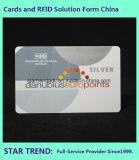 Cartão da platina com selo quente para o negócio VIP