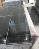 Black Galaxy Granite for Tiles & Slabs & Countertop, Material de construção