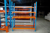 O armazenamento médio do dever do armazém arquiva a cremalheira com plataforma de aço