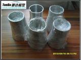 CNC que da vuelta y que muele con el material de aluminio